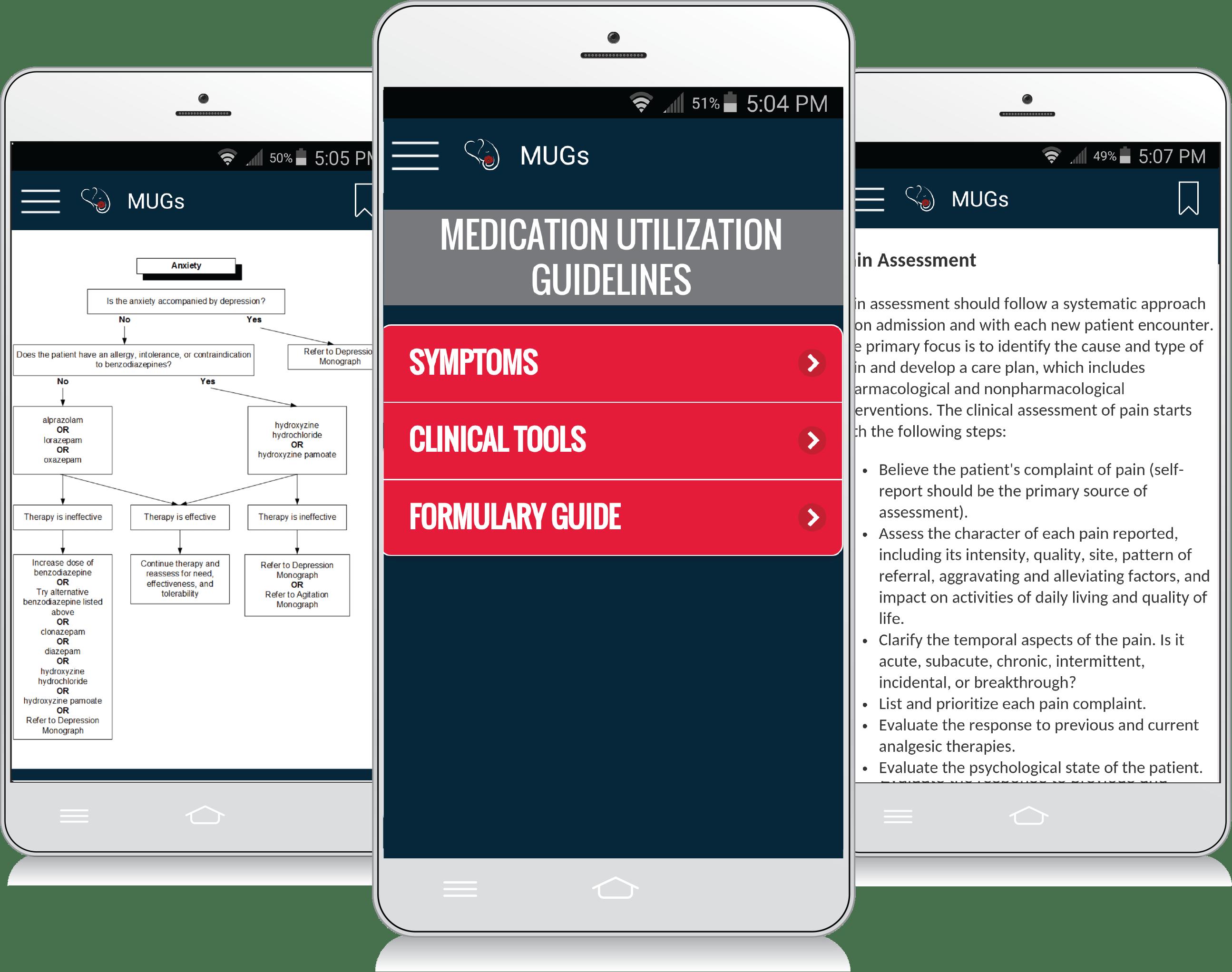 Enclara MUGs App
